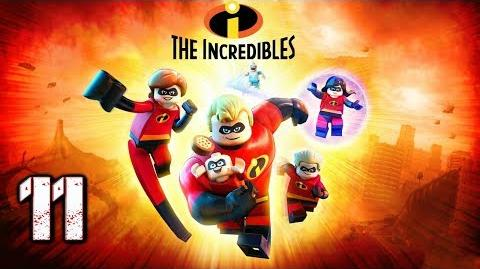 """LEGO LOS INCREIBLES - GAMMEPLAY EN ESPAÑOL (LATINO) - PARTE 11 """"ENCIMA DE LOS PARR"""""""