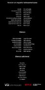 Créditos doblaje Selena La serie (temp. 1 ep. 3)