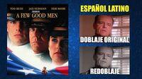 Cuestión de Honor -1992- Doblaje Original y Redoblaje - Español Latino - Comparación y Muestra