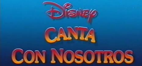Disney Canta con nosotros