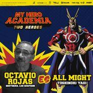 My Hero Academia - Dos Héroes (Actores presentados 02)