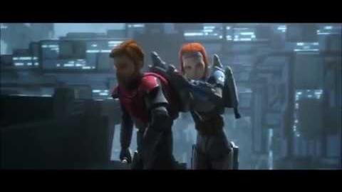 STAR WARS La Guerra de los Clones-(T5)Obi-Wan escapa de los Mandalorianos (Latino)