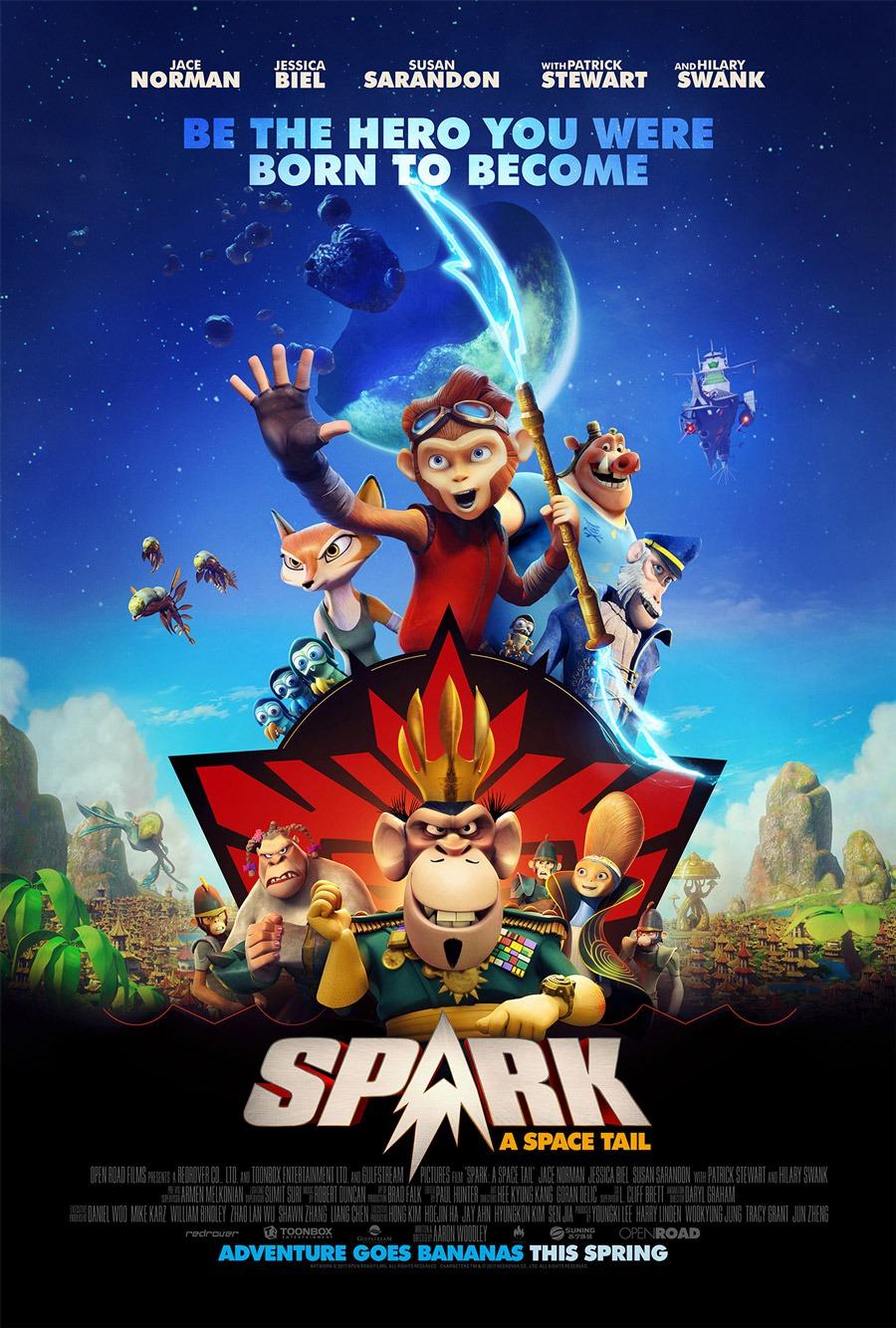 Spark: El mono espacial