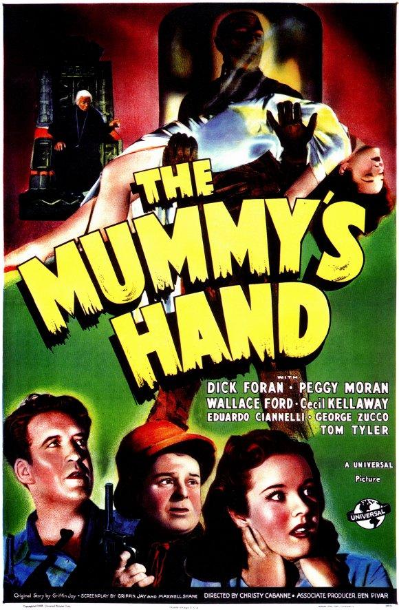 La mano de la momia