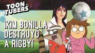 Copa Toon - Eileen vs Rigby El Partido Del Siglo Toontubers Cartoon Network