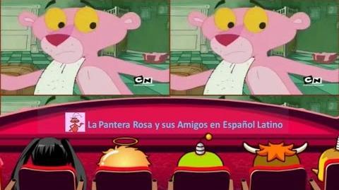 LA PANDILLA DE LA PANTERA ROSA ♦ La Limpieza con el Rosa Empieza ♦ Audio Español Latino