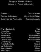 Doblaje Latino de Dragones Jinetes de Berk (Capitulo 12)