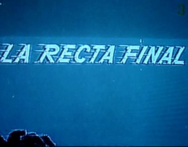 La recta final (1966)