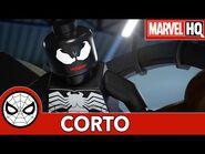 El mejor viaje alrededor del Mundo - Lego Marvel Spider-Man- Perseguido por Venom