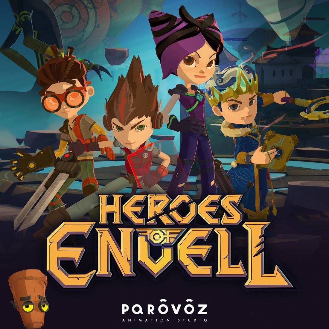 Los héroes de Envell