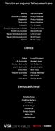 Créditos doblaje Selena La serie (temp. 2 ep. 3)
