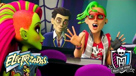 Los humanos le temen a la oscuridad Electrizadas Monster High