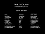 The Skeleton Twins Creditos Argentino