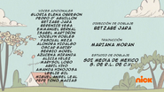 Creditos de doblaje The Loud House ESLA (S316-2)