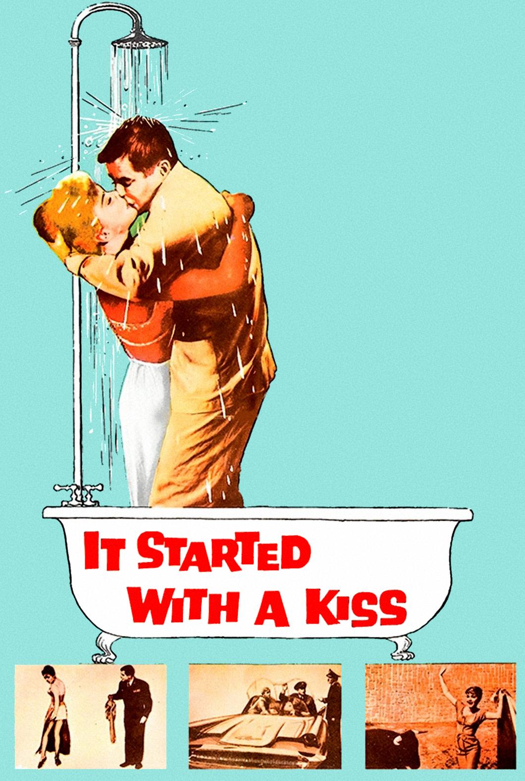 Comenzó con un beso