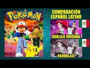 Pokémon - Comparación del Doblaje Latino Original y Redoblaje - Español Latino