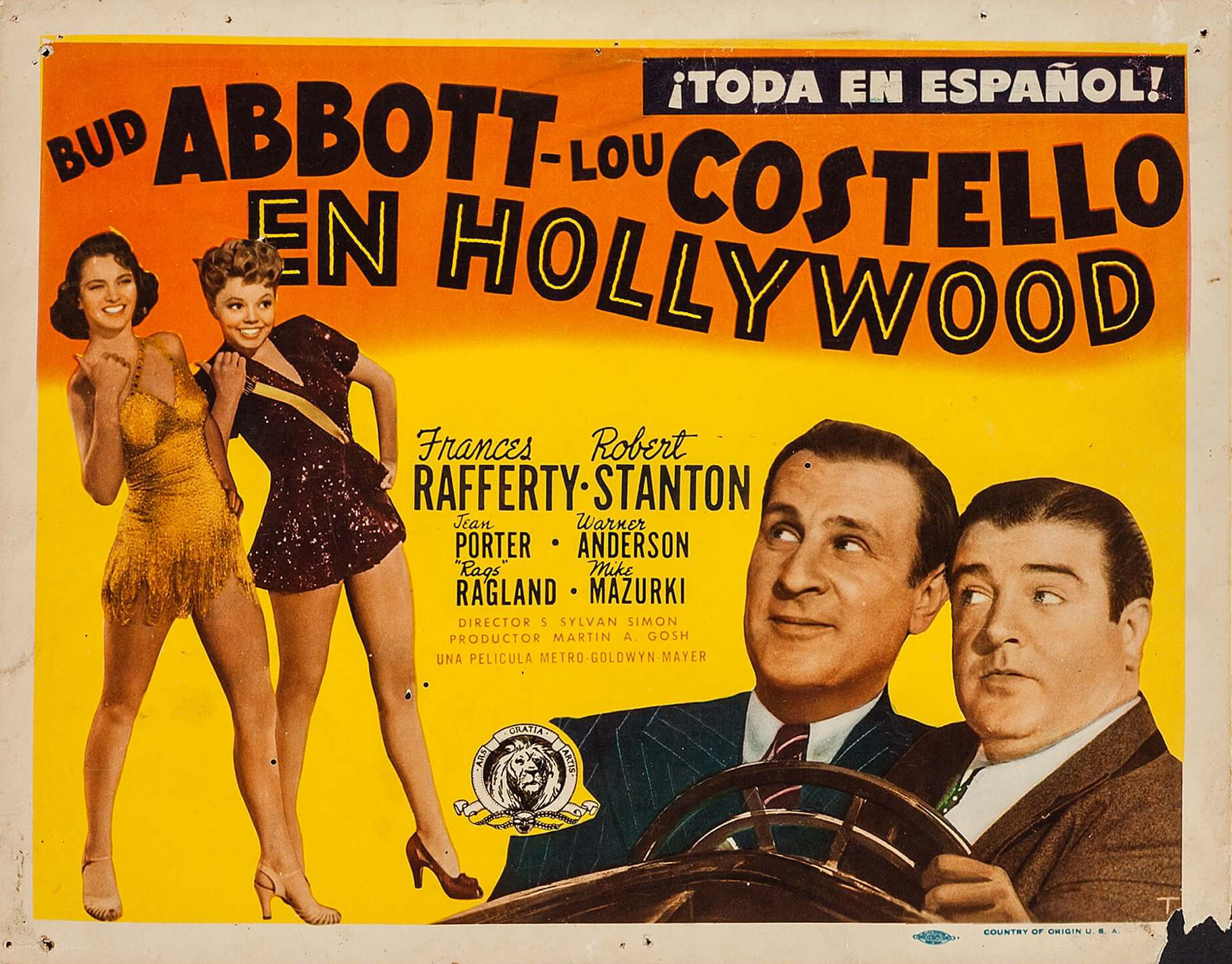 Abbott y Costello: En Hollywood