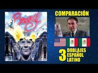 Brazil -1985- Comparación de 3 Doblajes Latinos - Original y Redoblajes - Español Latino