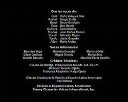 Créditos de doblaje de Guardianes de la galaxia (Temporada 1) (TV) (DXD)