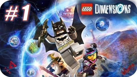 LEGO Dimensions - Gameplay Español - Capitulo 1 - 1080pHD