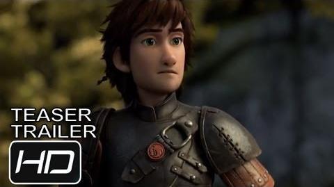 Cómo Entrenar a tu Dragón 2 - Teaser Trailer Español Latino - HD