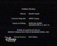 Créditos de doblaje de Un viernes de locos (TV) (DC) (3)