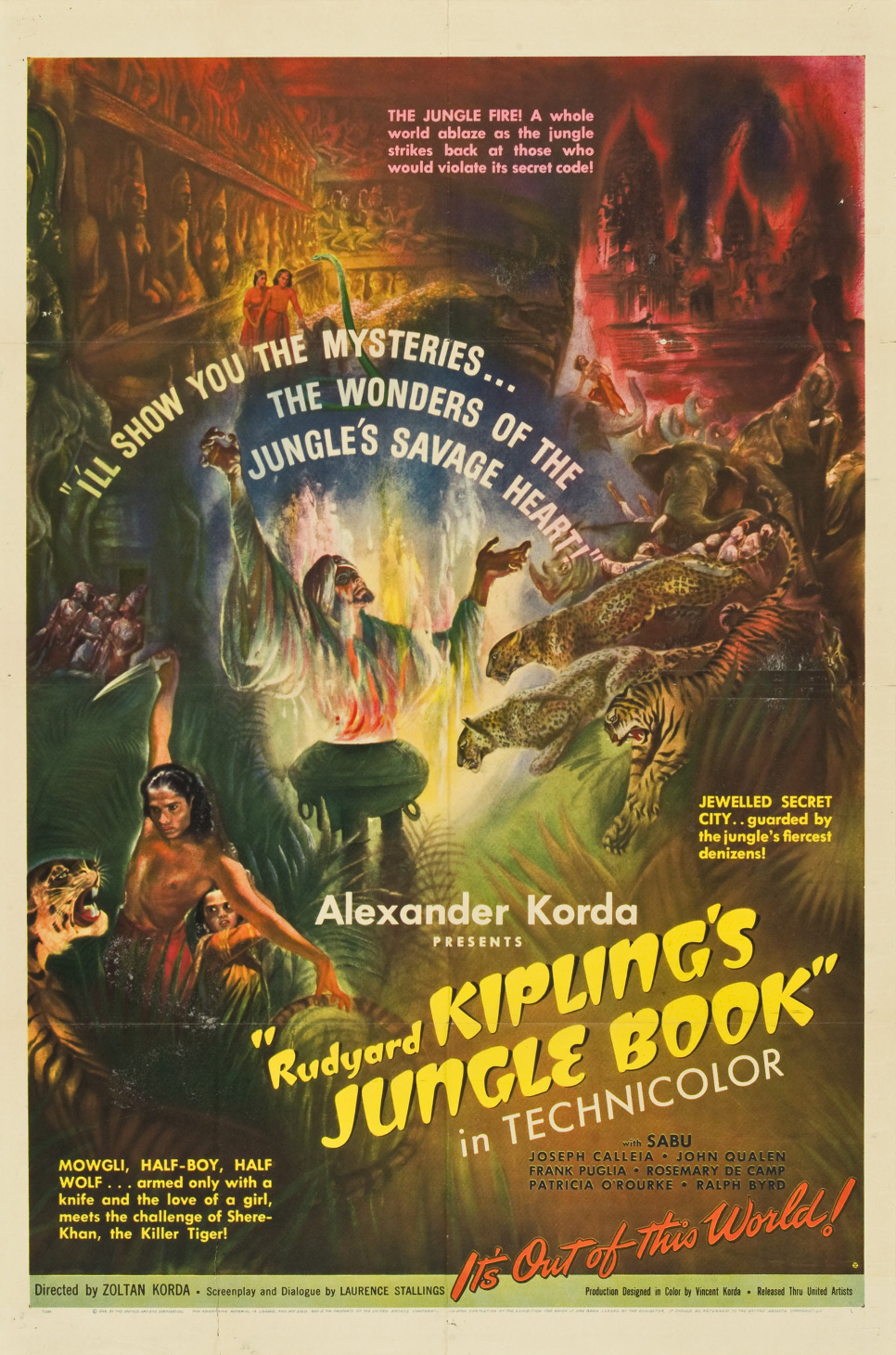 El libro de la selva (1942)