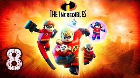 """LEGO LOS INCREIBLES - GAMMEPLAY EN ESPAÑOL (LATINO) - EPISODIO 8 """"JUSTICIEROS EN GUARDIA"""""""