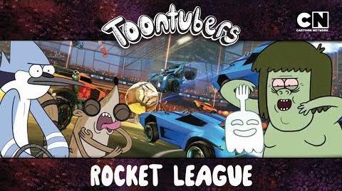 Mordecai y Rigby vs Musculoso y Fantasmano EL DUELO DEL SIGLO Toontubers Cartoon Network