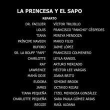 La Princesa Y El Sapo Doblaje Wiki Fandom