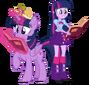 Twilight sparkle and twilight sparkle by hampshireukbrony-d6mkmmg