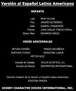 Créditos doblaje LEYENDAS de Marvel Studios (ep. 7)