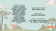 Creditos de doblaje The Loud House ESLA (S311-2)