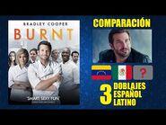 Una Buena Receta -2015- Comparación de 3 Doblajes Latinos - Original y Redoblajes - Español Latino