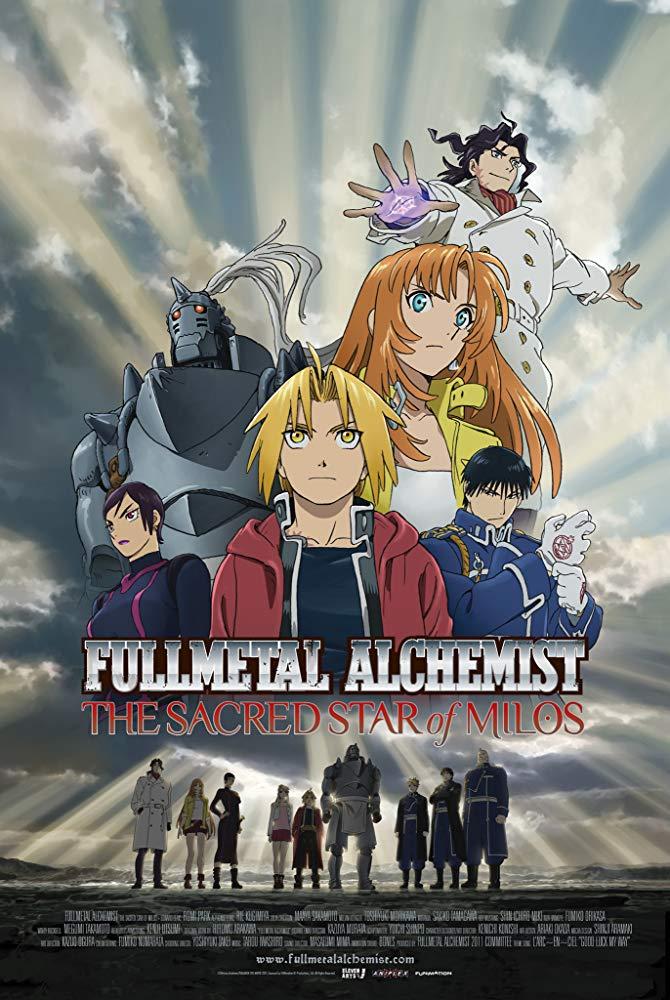 Alexdjhouse/Propuesta de doblaje: Fullmetal Alchemist: La estrella sagrada de Milos