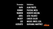 Creditos de doblaje Rise of the TMNT (Episodio 3, 1)