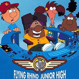 La escuela del rino volador