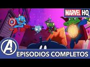 -3 Marvel Funko Battleworld presenta- Llueven cerdos y ranas