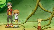 Takuya y sus amigos caen en la trampa de Grumblemon - Latino