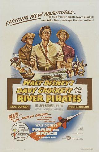 Davy Crockett y los piratas del río