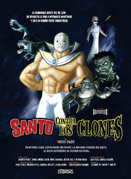 Santo contra los clones