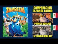 Zambezia -2012- Comparación del Doblaje Latino Original y Redoblaje - Español Latino