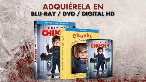 Cult of Chucky (2017) Trailer Oficial en Español Latino
