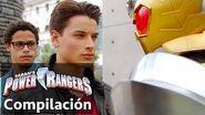 Power Rangers en Español Megaforce y Robo Knight trabajando juntos!