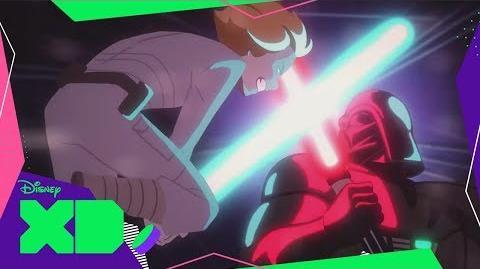 Luke vs Darth Vader Star Wars Galaxy of Adventures