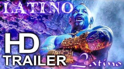 ALADDÍN (2019) Nuevo Trailer Doblado Español Latino Oficial