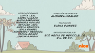 Creditos de doblaje The Loud House ESLA (S225-2)