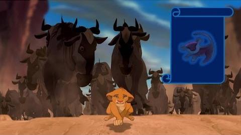 """Momento Épico Disney """"Estampida"""" El Rey Leon"""