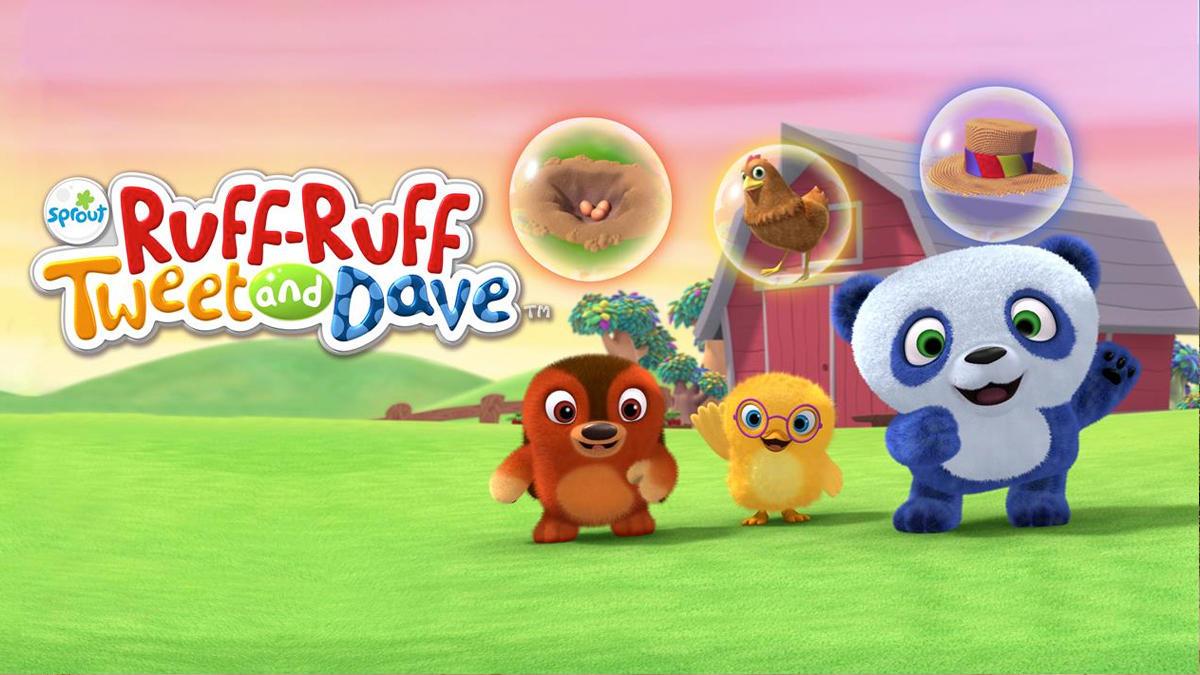 Ruff Ruff, Pia y Panda