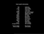 Créditos de doblaje de Violet Evergarden T01E02 (Netflix)